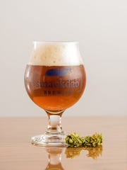 Smackdab Brewing has created a German lager, a smoked