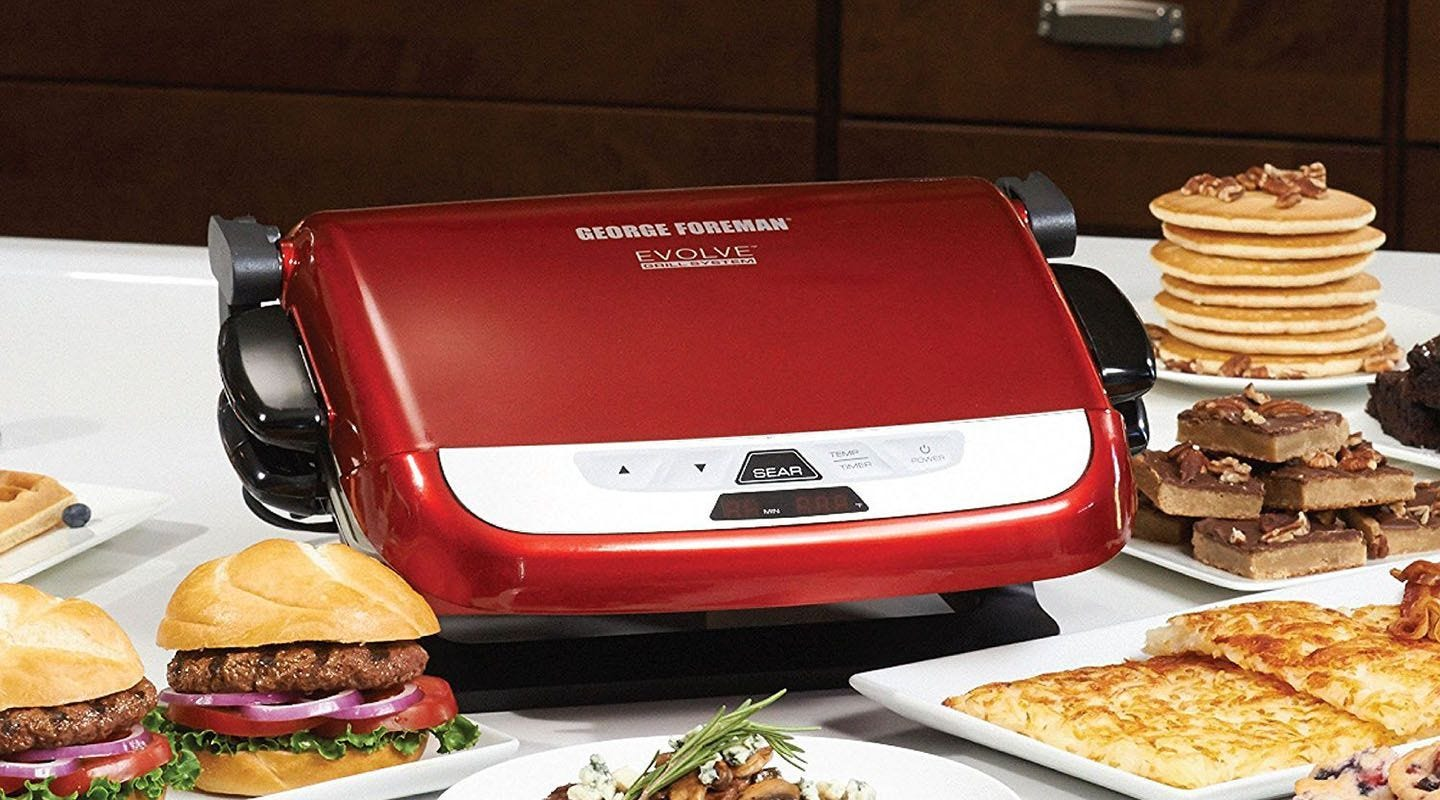 donu0027t miss your chance to grill this george foreman countertop grill is only 72 right now