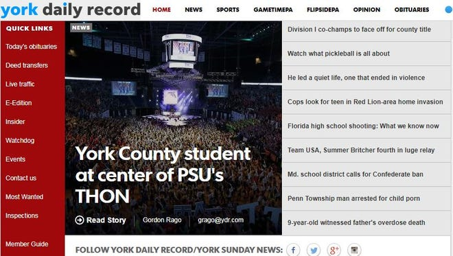 Subscribe to the York Daily Record online to stay up to date.