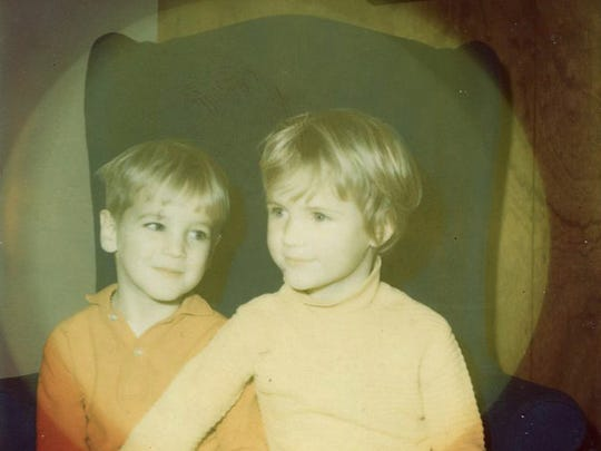 John was always closest with his sister Maura, two years older than him.