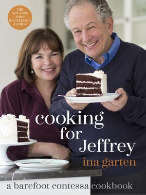 Ina Garten's 10th cookbook features recipes she cooks for her husband Jeffrey. It will be released on Oct. 25.
