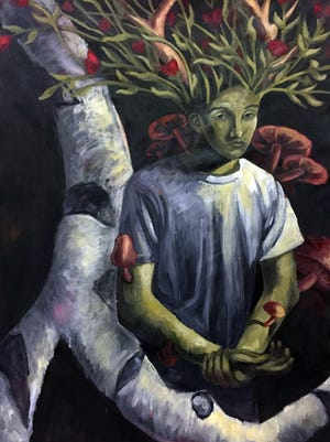 Artwork by high school student Anthony DiBattista will be shown in 'Teen Visions '17.'