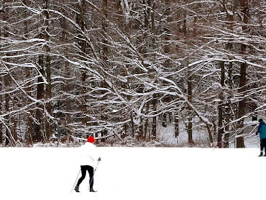 Fahnestock is a great spot for cross-country skiing.