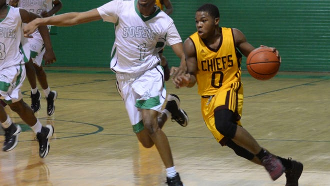 Natchitoches Central point guard Brian White (0) will be one of the top players in this week's Bossier Invitational.