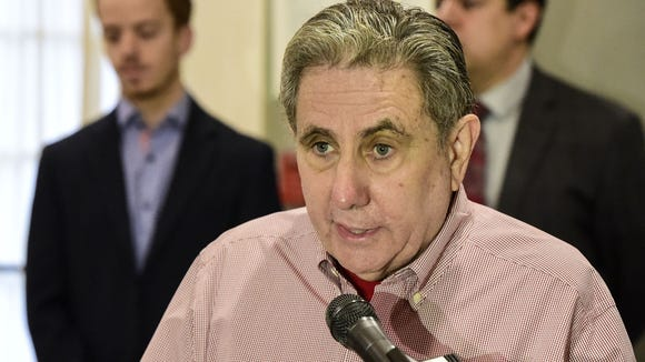 Tioga Downs owner Jeff Gural speaks this past Tuesday