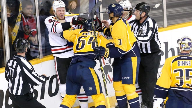 The Predators will open the playoffs Wednesday at Bridgestone Arena against the Blackhawks.