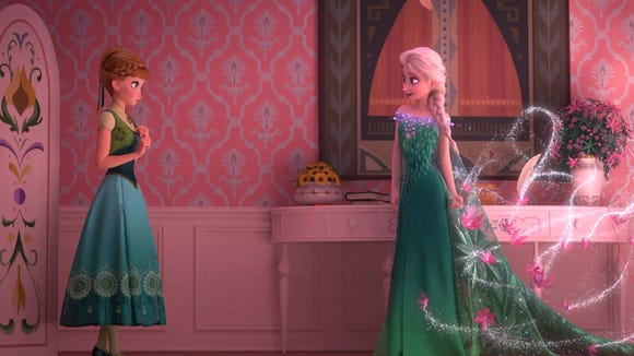 "The Disney short ""Frozen Fever"" is one of 12 shorts"