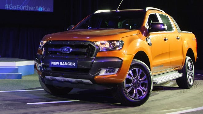 The global version of the Ford Ranger pickup truck, seen here, will be built in Nigeria starting in the fourth quarter of 2015.