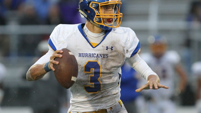 Junior Jay Urich has thrown for 1,870 yards and 14 touchdowns in his first season as Wren's quarterback.