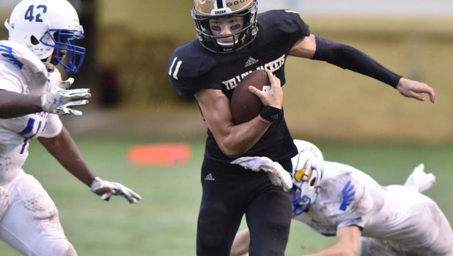 Senior quarterback Mario Cusano and the Greer Yellow Jackets are No. 3 in the final S.C. Prep Football Media Poll of the season.