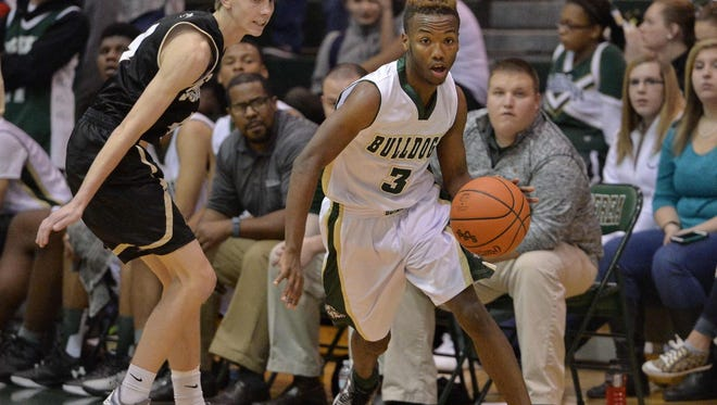 Berea senior Zay Ballenger, right, has been selected the Greenville County Basketball Coaches Association's Boys Player of the Week for the week of Jan. 11.