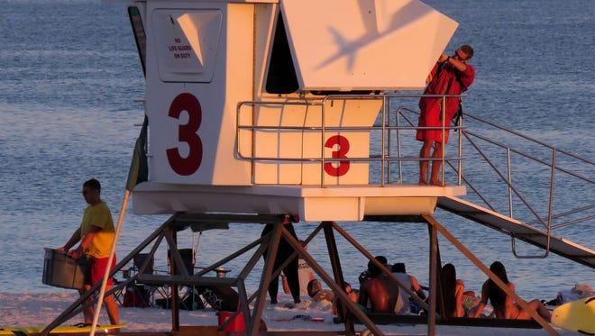 Pensacola Beach Lifeguards.