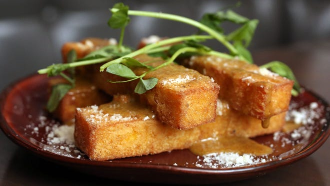 Polenta fries are a menu item at Madison Kitchen in Larchmont for Hudson Valley Restaurant Week.