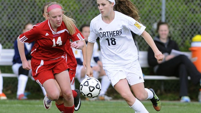Hannah Jones, Jr., Port Huron NorthernJones was named Gatorade Player of the Year in Michigan, Second-Team All-State in Division 1 and Macomb Area Conference Blue Division MVP. She had 20 goals and five assists in 16 games.