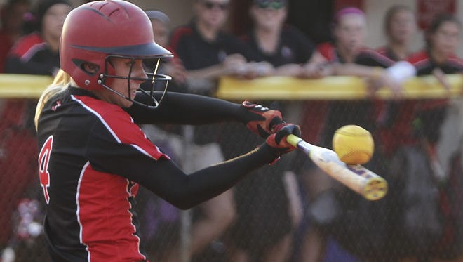 Jessie Valerius, a Charlotte High transfer, has given the North Fort Myers softball team a punch at the plate.
