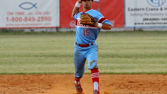 J.L. Mann shortstop Patrick Frick has been chosen to play in the S.C.-N.C. Select Game.