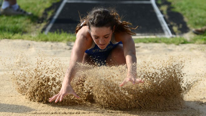 Wynford's Margaret Willford makes the trip to Columbus after a fourth place finish in the long jump at the Lancaster Regional