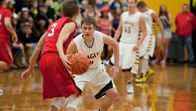 Colonel Crawford's Hayden Bute remains one of the few 3-sport athletes in Crawford County.