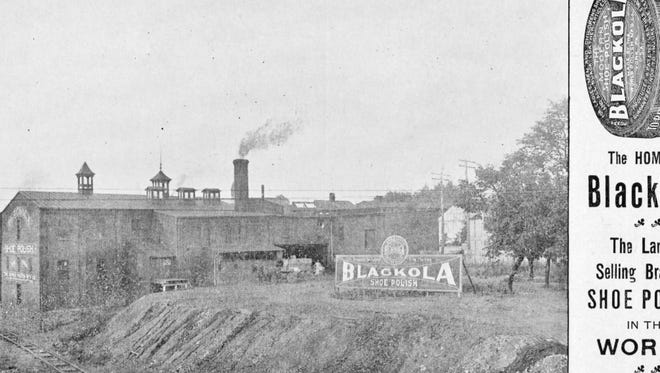 World Polish Mfg. Co. made its Blackola Shoe Polish brand in this factory on the banks of Codorus Creek.