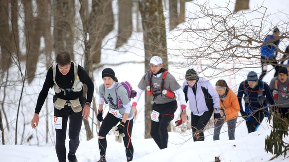 Runners take on the 40-mile Mount Mitchell Challenge