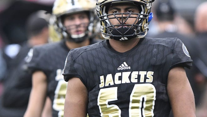 Greer High offensive lineman Noah Hannon has been chosen the state's Lineman of the Year by the South Carolina Football Coaches Association.
