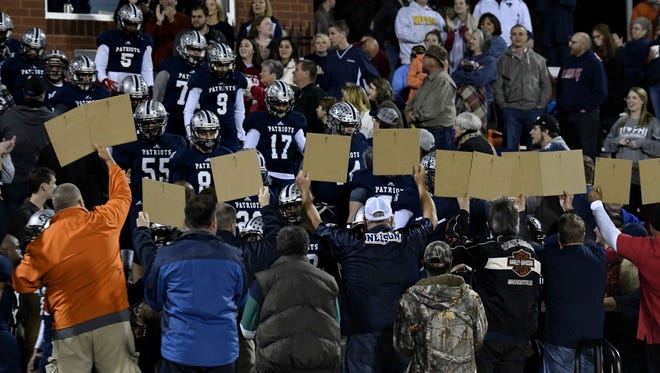 Powdersville will play in front of its home fans again Friday night, taking on Chapman in a Class AAA third-round playoff game.
