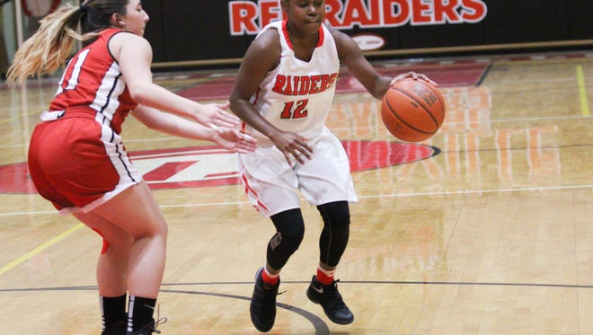 Greenville senior Savannah Hughes (12) is the Greenville County Basketball Coaches Association Girls Player of the Week.