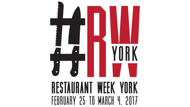 Restaurant Week York 2017 takes place from Feb. 25 to March 4.