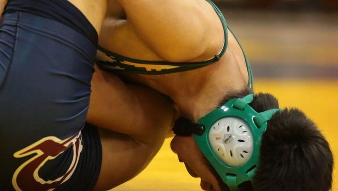 Boys high school wrestling