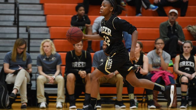 Senior Diamon Shiflet, a USC Upstate signee, leads Greer in scoring, assists, steals and blocks and is second in rebounding.