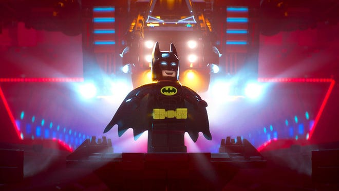 "More Bright Knight than Dark Knight, the Caped Crusader returns in ""The Lego Batman Movie."""
