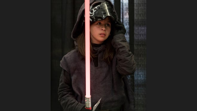 Youth costume contest during the Tulare Sci-Fi Con at the International Agri-Center on Saturday, March 11, 2017.