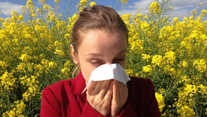 You don't have to suffer from allergies in silence. Get some help and maybe some honey.