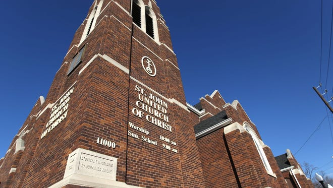 St. John United Church of Christ, 11000 E. Washington St., Cumberland, was built in 1914.