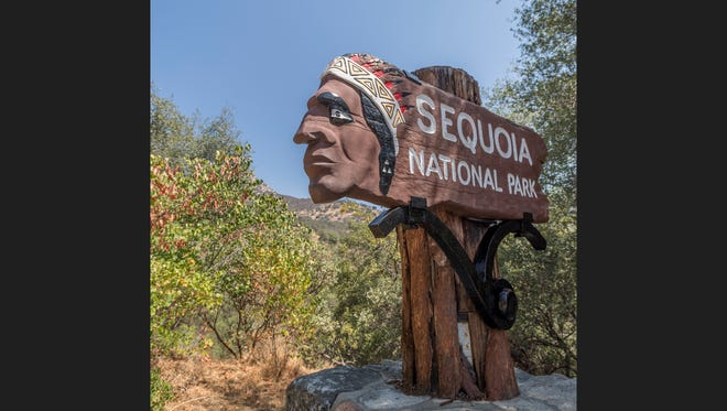 Entrance to Sequoia National Park was free Friday, August 25, 2017 in celebration of the 101st birthday of the National Park Service.