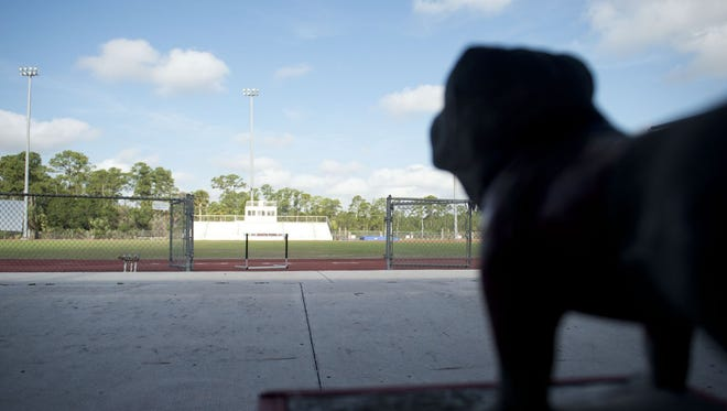 Martin County School Board members on Tuesday approved borrowing $9.9 million to build an athletic complex at South Fork High School by a 3-2 vote.