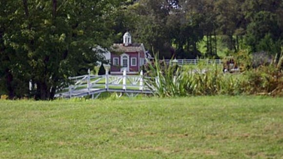 The Little Courthouse was made to be moved. It originally stood on York's Continental Square as a place to sell war bonds in World War I. It stood for years at Farquhar Park, but fell into disrepair. But it stands in good shape today as a fixture at a pet resort at Butter and Copenhaver roads in Conewago Township