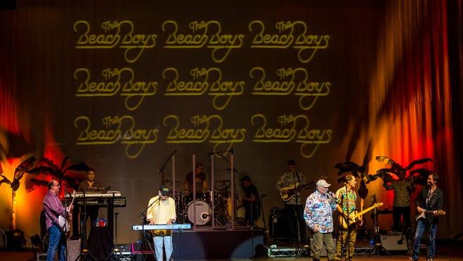 Beach Boys perform at the Fox Theater in Visalia on Thursday, March 2, 2018