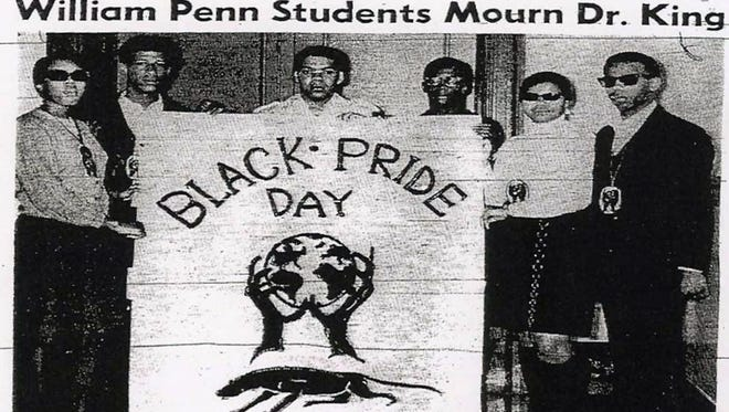 William Penn students staged a Black Pride Day the day after the assassination of Martin Luther King. Their protest had a lasting, and positive, effect on their school and our community.