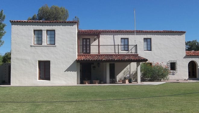 1929 Mediterranean Revival, classic example. Historians say while there are other styles represented, homes in the district primarily represent two eras: the latter part of the Period Revival era, 1926-1930, and the Early Ranch era, 1935-1954.