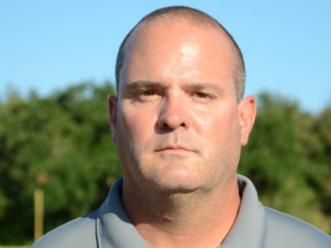 Delcambre head coach Marc Broussard.