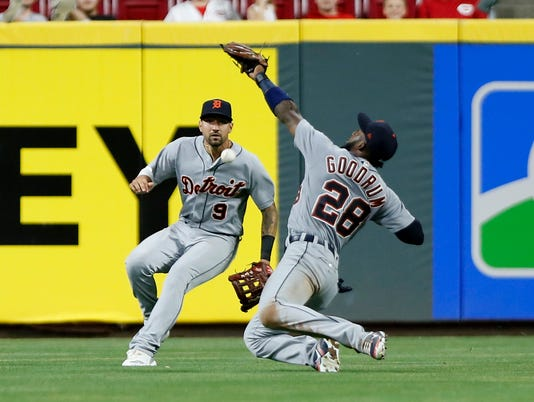 MLB: Detroit Tigers at Cincinnati Reds