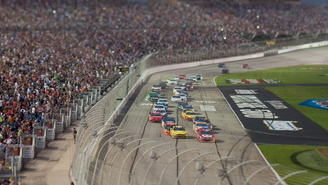Drivers and fans have praised the racing at Atlanta Motor Speedway, but NASCAR has moved the event around the calendar more than once.
