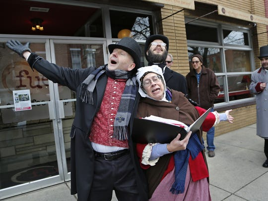 Street entertainers will help transform downtown Lafayette into Victorian London during the annual Dickens of a Christmas on Dec. 9.