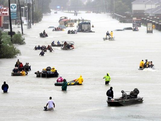 AP HARVEY RAINFALL REPORT A FILE USA TX