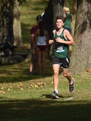 Yorktown's Dylan DiBenedetto heads into the final stretch