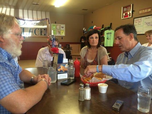 Santorum tenderloin