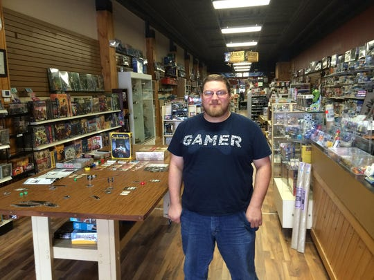 Adam DeMarco is the owner of Out of the Box Hobby, located at 927 Main Street in Stevens Point.