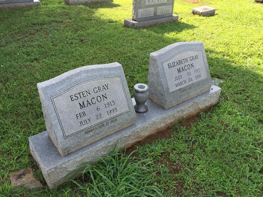 Members of Dave Macon's family are buried in Rutherford
