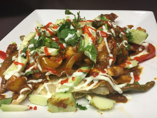 Asian Nachos are one of the newest additions to the